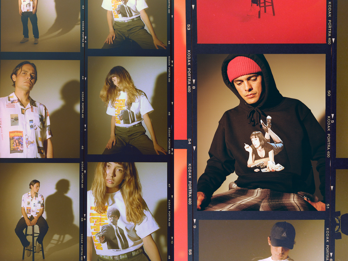 HUF Celebrate Pulp Fiction's 25th Anniversary with Collaborative Collection