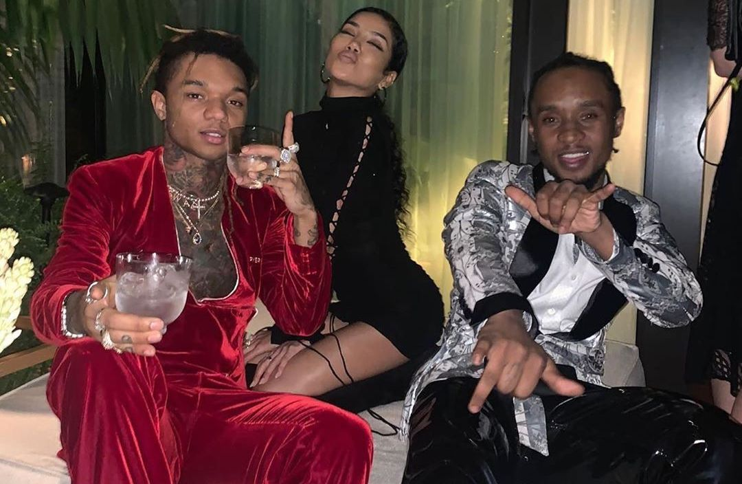 SPOTTED: Swae Lee, Slim Jimmy & Jhene Aiko Show Out In Pyer Moss