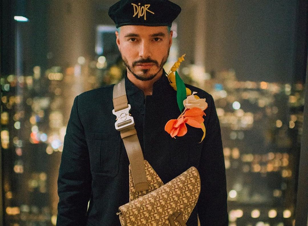 SPOTTED: J Balvin Accepts 'Style Influencer of the Year' Award in Dior