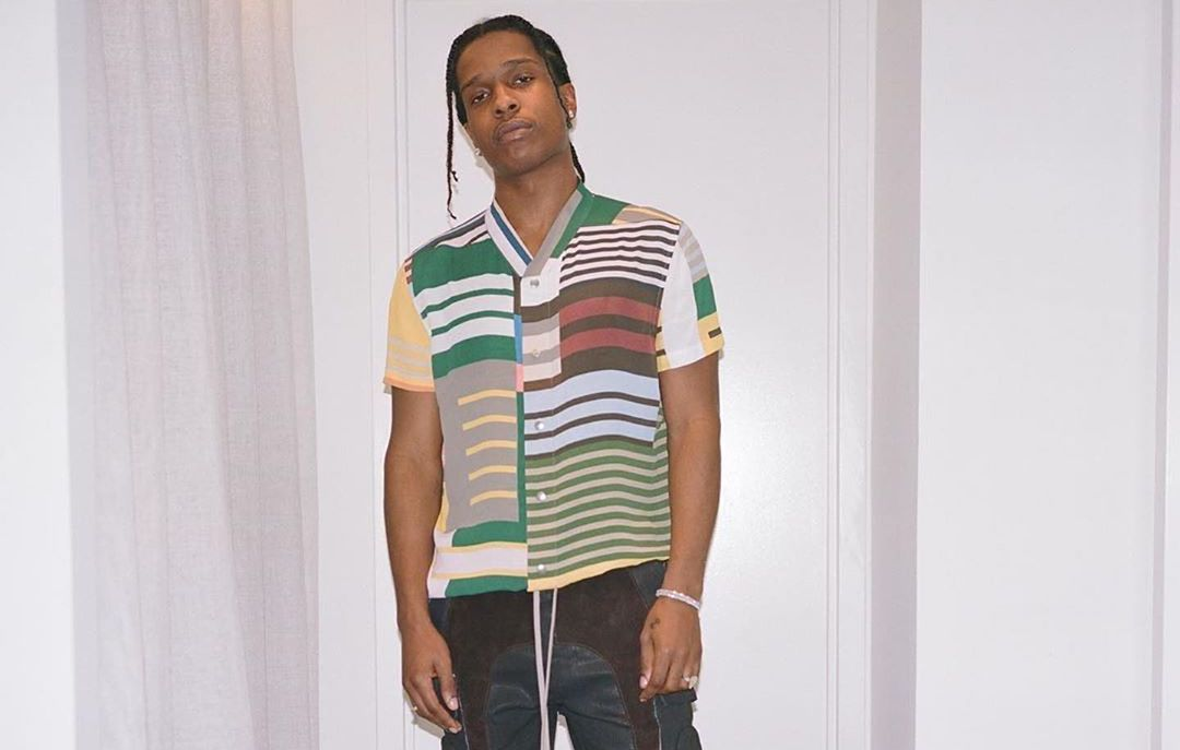 SPOTTED: ASAP Rocky in Head-to-Toe Rick Owens Ensemble