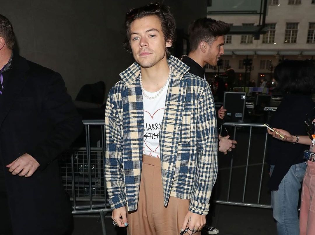 SPOTTED: Harry Styles hits London in Gucci & BODE
