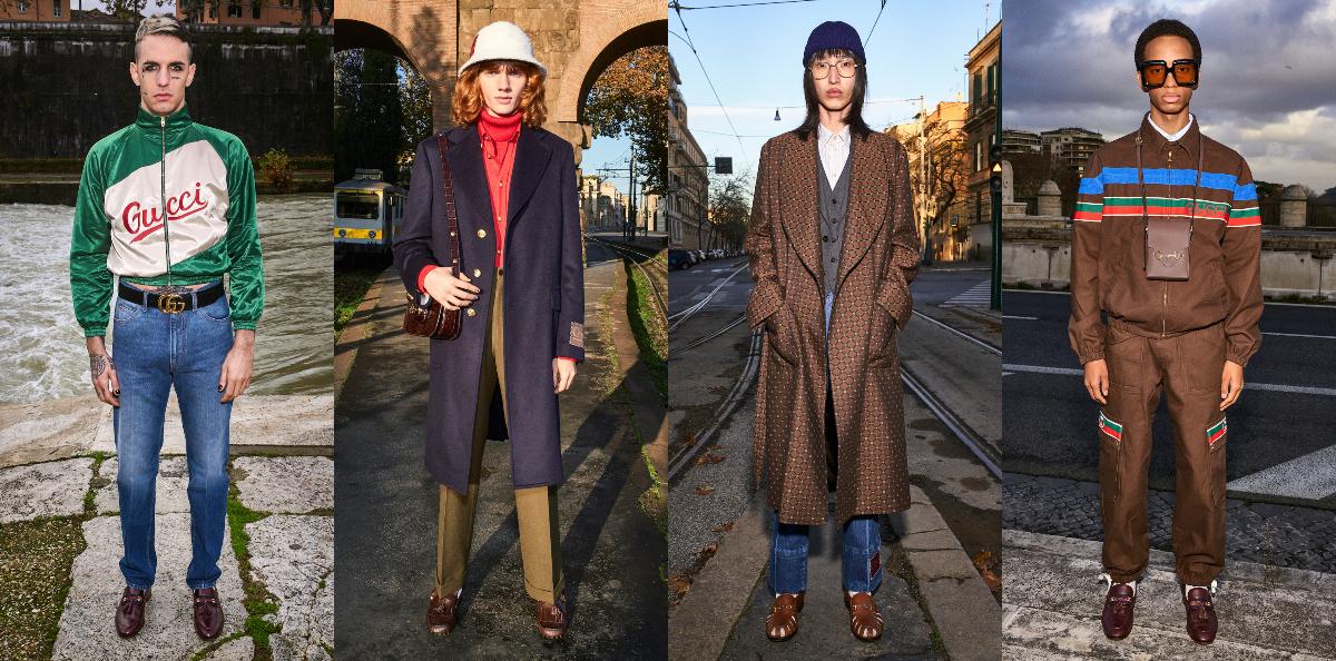 Gucci Unveil Pre-Fall 2020 Menswear Lookbook