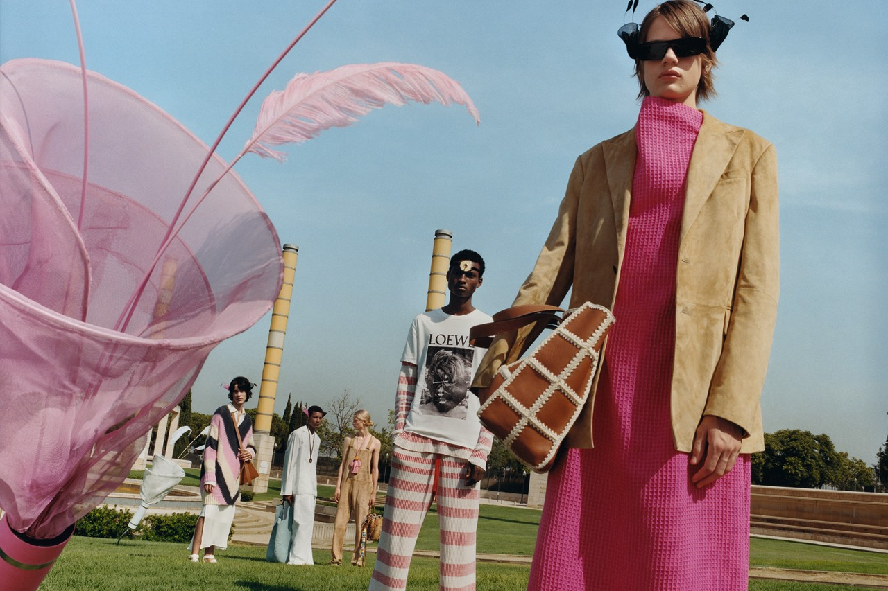 LOEWE Debuts Futuristic SS20 Editoral Publication