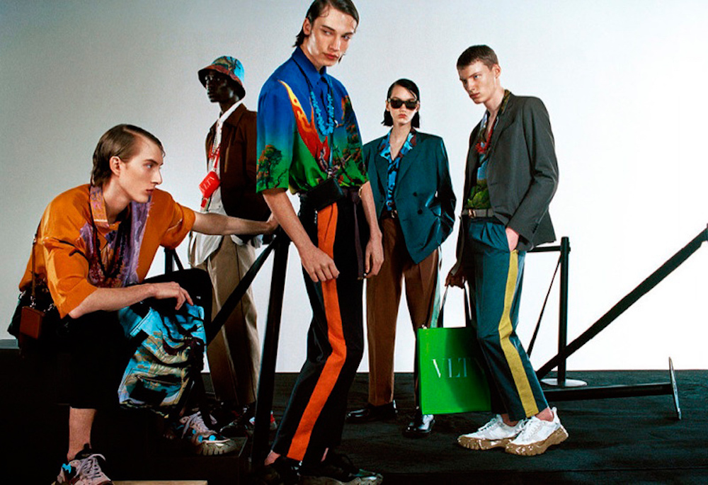 Valentino Deliver Bold Prints in Spring/Summer 2020 Campaign