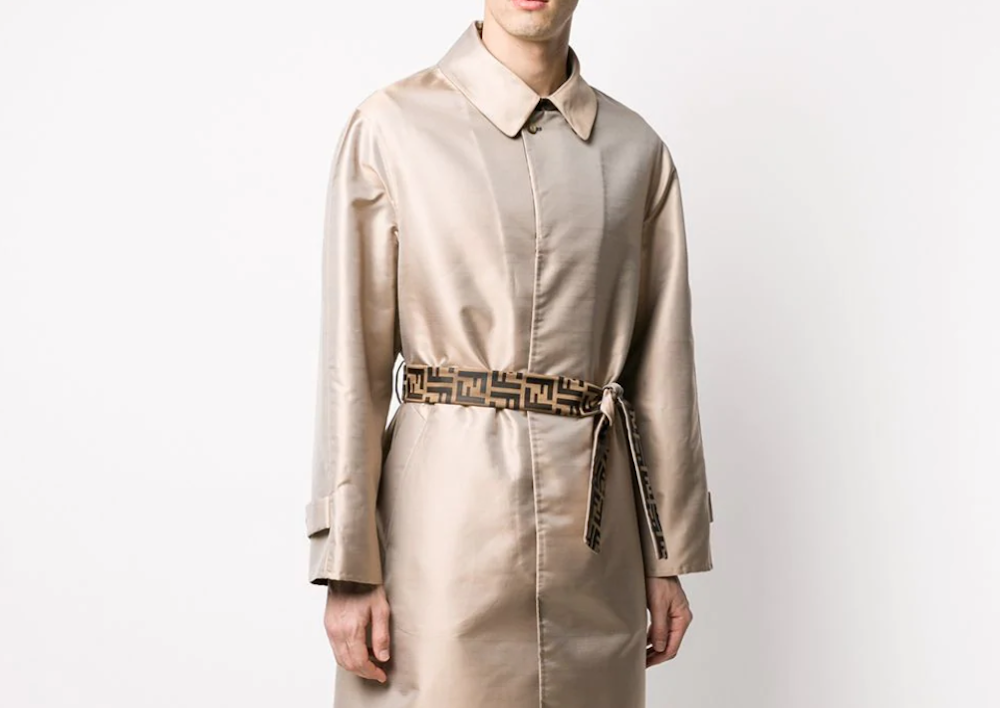 PAUSE or Skip: Fendi Belted Trench Coat