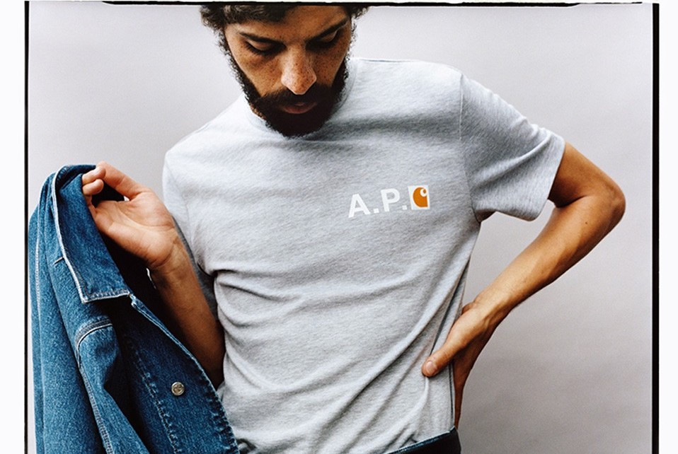 A.P.C. & Carhartt WIP Come Together For SS20 Collection