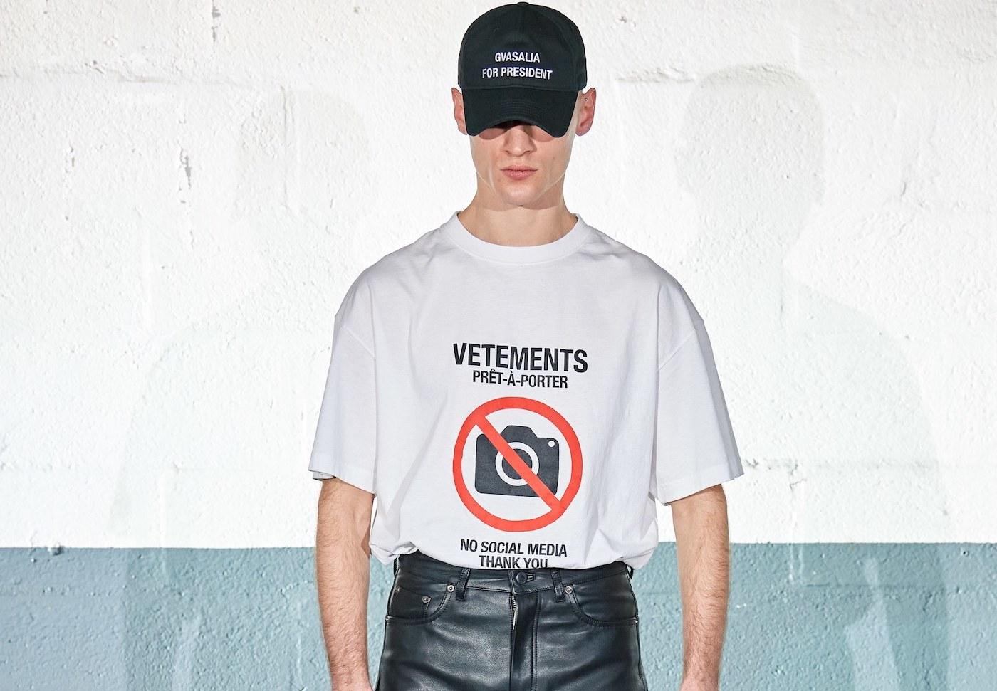 PFW: Vetements Autumn/Winter 2020 Collection