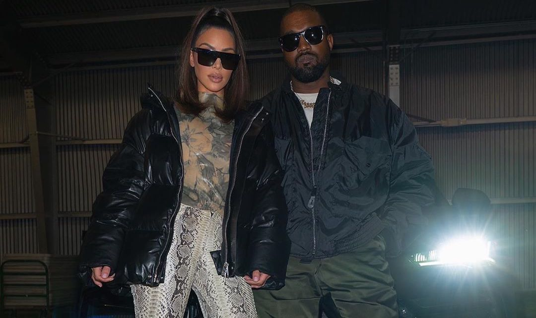 SPOTTED: Kanye West & Kim Kardashian Head To The Lakers Game