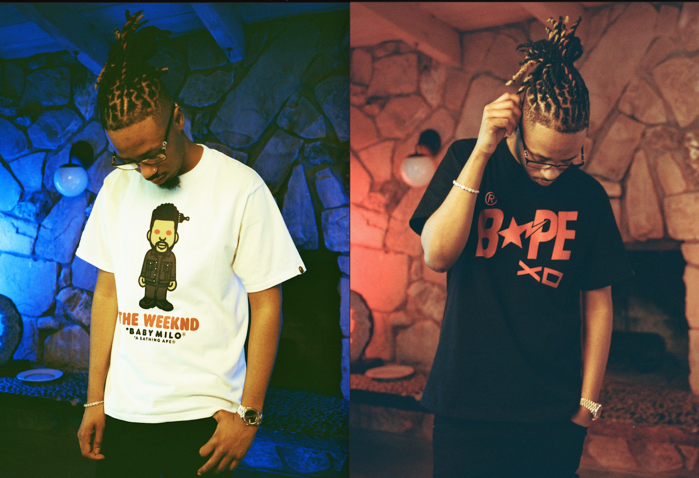 A BATHING APE® and The Weeknd's label XO Drop Capsule Collection