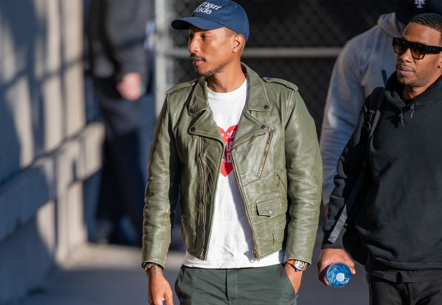 SPOTTED: Pharrell Williams Strolls Through L.A. in Human Made & CPFM