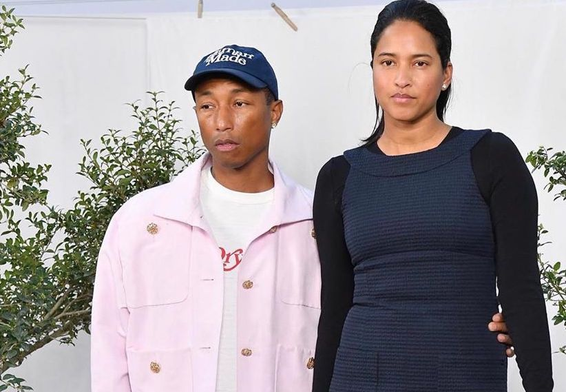 SPOTTED: Pharrell & Wife Helen Take In Chanel SS20 Couture Show