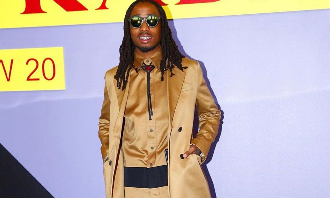 SPOTTED: Quavo Dons Full Prada Ensemble at Milan Fashion Week