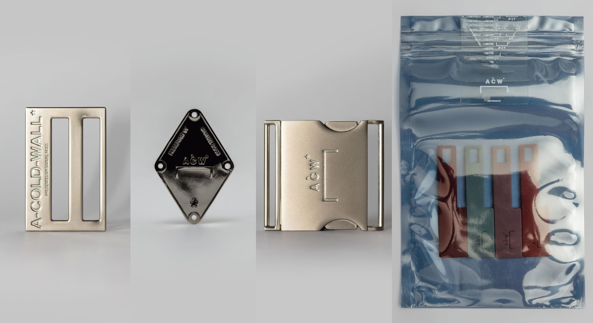 """A-COLD-WALL* drop buckles, zips & more in """"Hardware Package"""""""