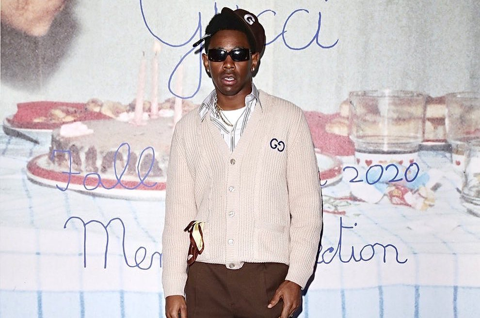 SPOTTED: Tyler, The Creator in Gucci, GOLF WANG & Converse during MFW
