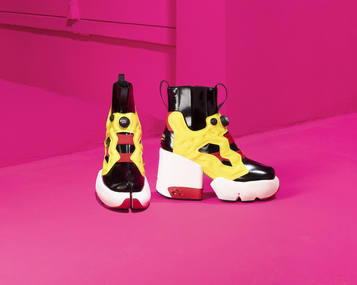 Maison Margiela & Reebok Unveil Sneaker Collab during PFW