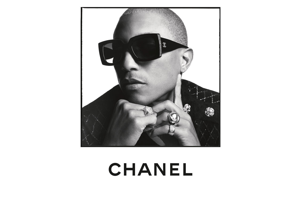 Pharrell Williams Fronts Chanel's SS20′ Eyewear Campaign
