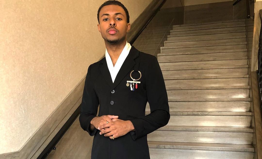 SPOTTED: Diggy Simmons Dons Wales Bonner Suit