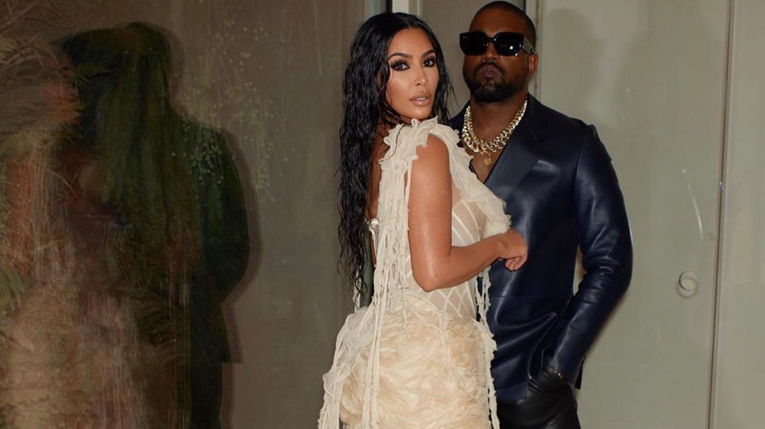 SPOTTED: Kanye & Kim Do Date Night At The Oscars