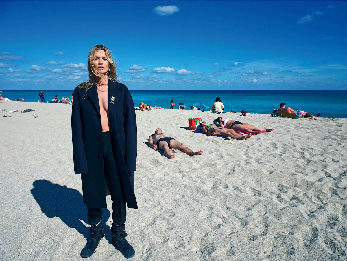 Kate Moss Interviews Dior Men's designer Kim Jones for i-D's Magazine