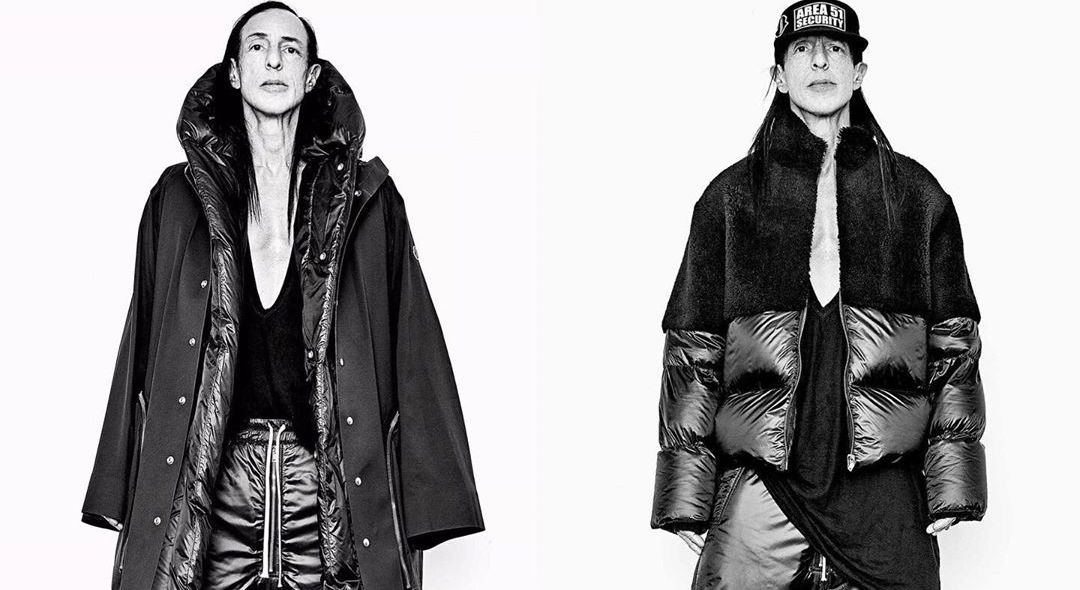 Rick Owens Teases Pieces From Moncler Collaboration