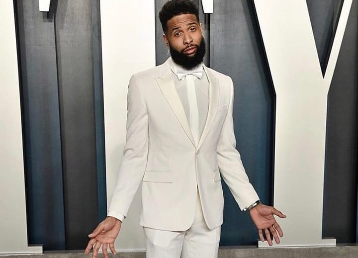 SPOTTED: Odell Beckham Jr. attends Vanity Fair Oscars Party