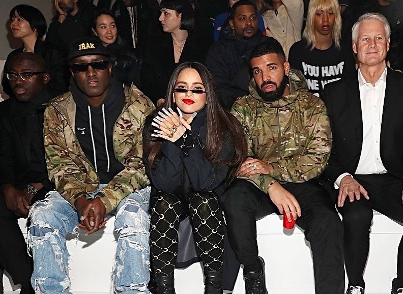 SPOTTED: Virgil Abloh, Drake, Rosalía & more at Nike Olympics Show