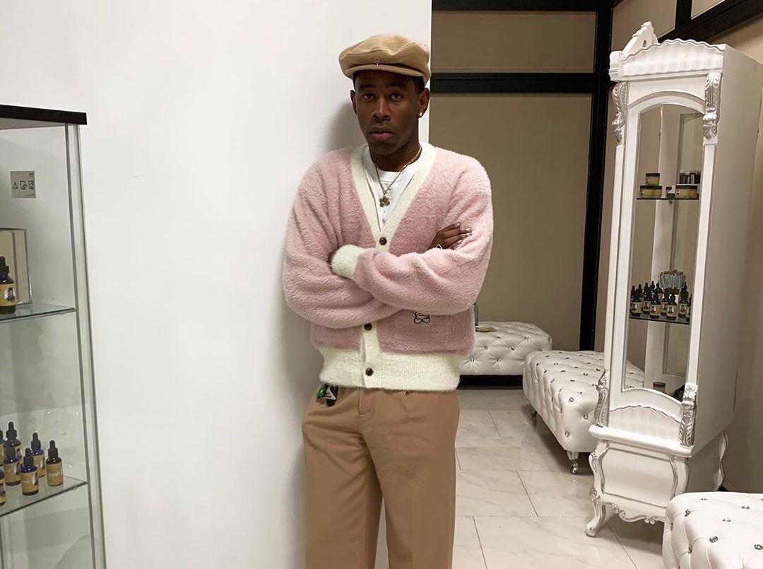 SPOTTED: Tyler, The Creator in Lacoste x GOLF le FLEUR