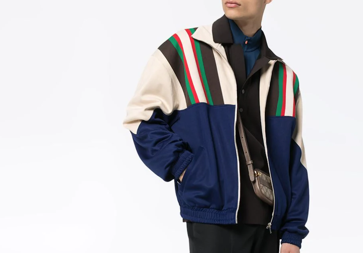 PAUSE or Skip: Gucci Zip-Up Striped Track Jacket