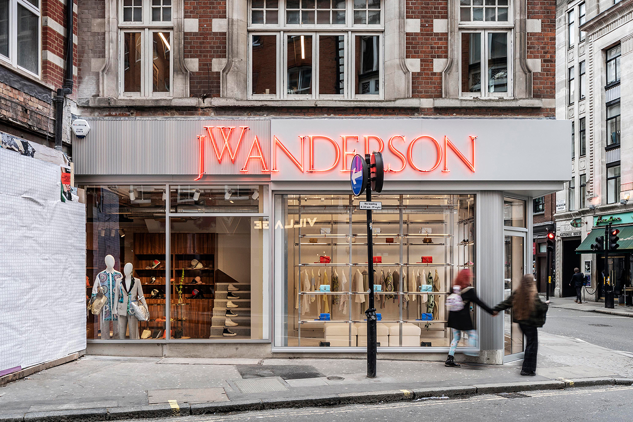 A Look Inside JW Anderson's new London Flagship Store
