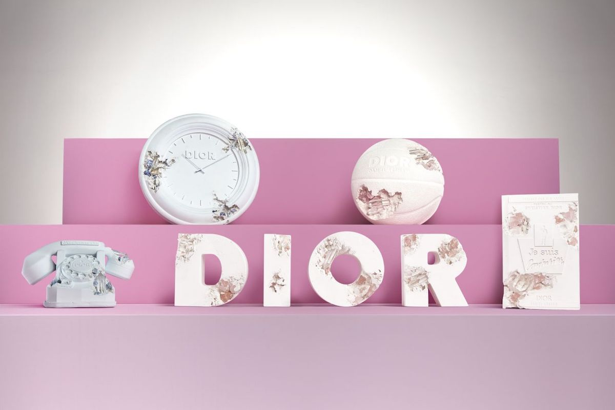 Dior and Daniel Arsham Unveil Limited Edition Art Collection