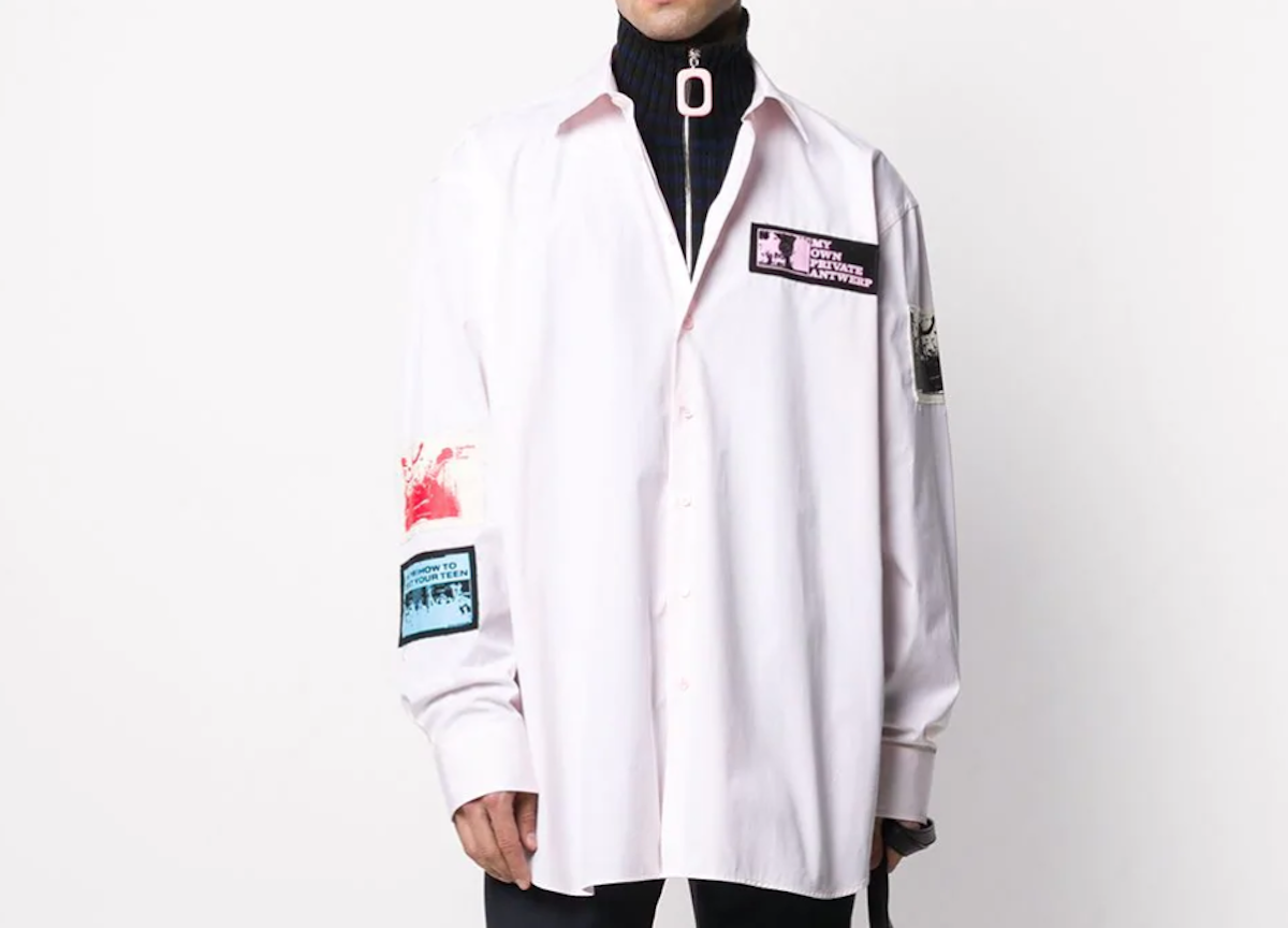 PAUSE or Skip: Raf Simons Oversized Patch Shirt