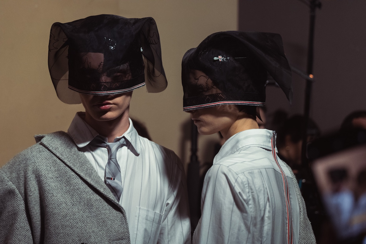 PFW Backstage: Thom Browne Autumn/Winter 2020 Runway Show