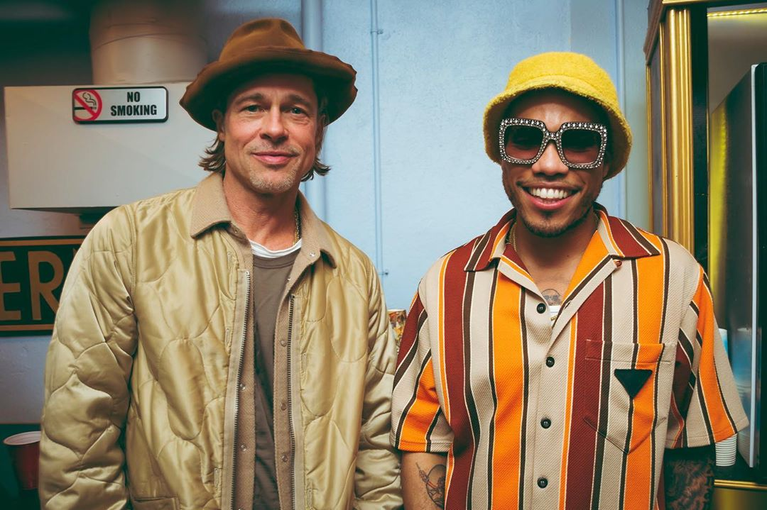 SPOTTED: Anderson.Paak Wears Striped Shirt & Gucci Frames