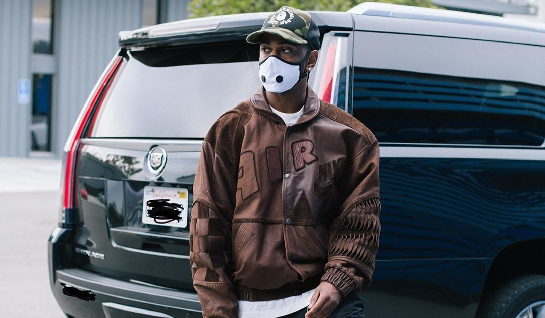 SPOTTED: Big Sean Dons Nike Leather Jacket & Nike Dunks