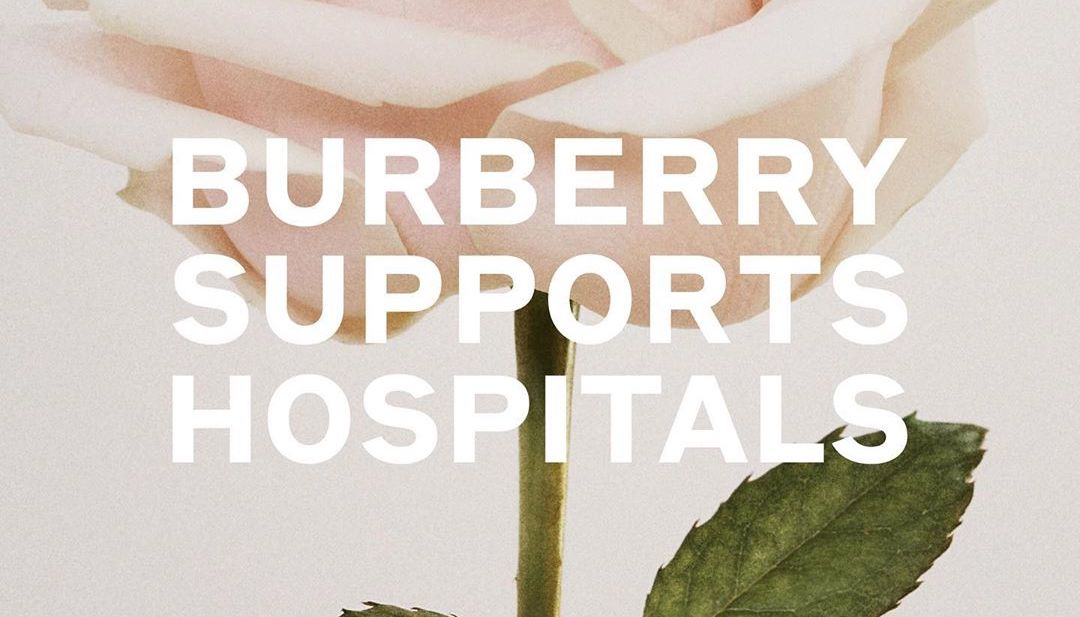 Burberry Dedicating Funds & Factories To Fighting COVID-19