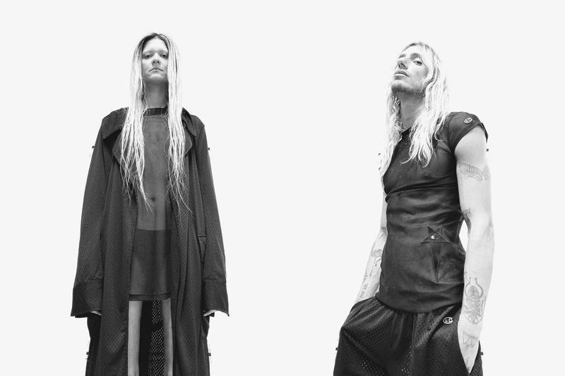 Rick Owens Taps Champion For Spring/Summer 2020 Campaign