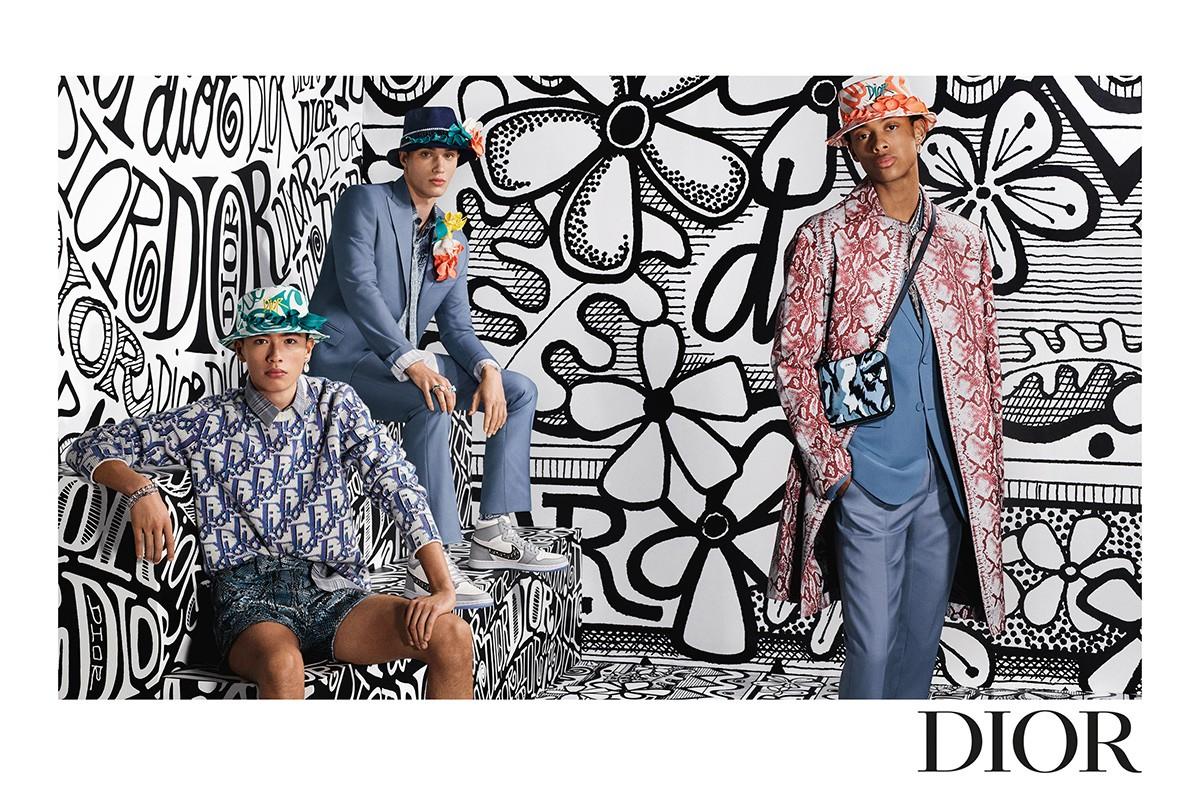 Dior Teases Pre-Autumn Men's Campaign Featuring The Air Dior Sneaker