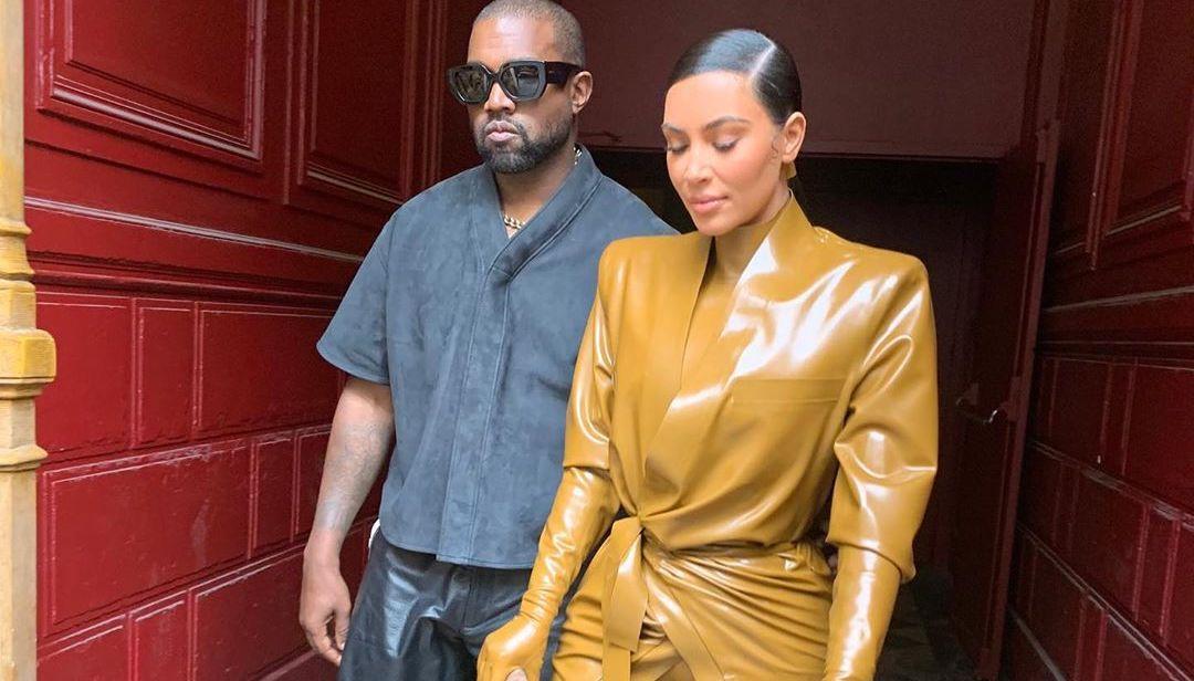 SPOTTED: Kanye West & Kim Kardashian Take Over Paris