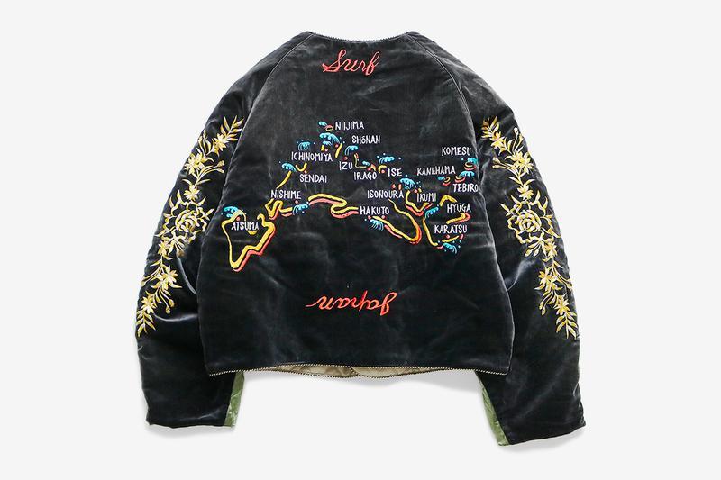 KAPITAL Debuts J-WAVE Souvenir Jacket Collection