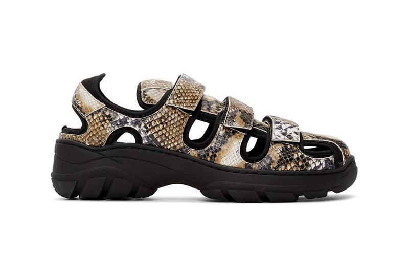 PAUSE or Skip: Martine Rose's Chunky Snakeskin Sandals