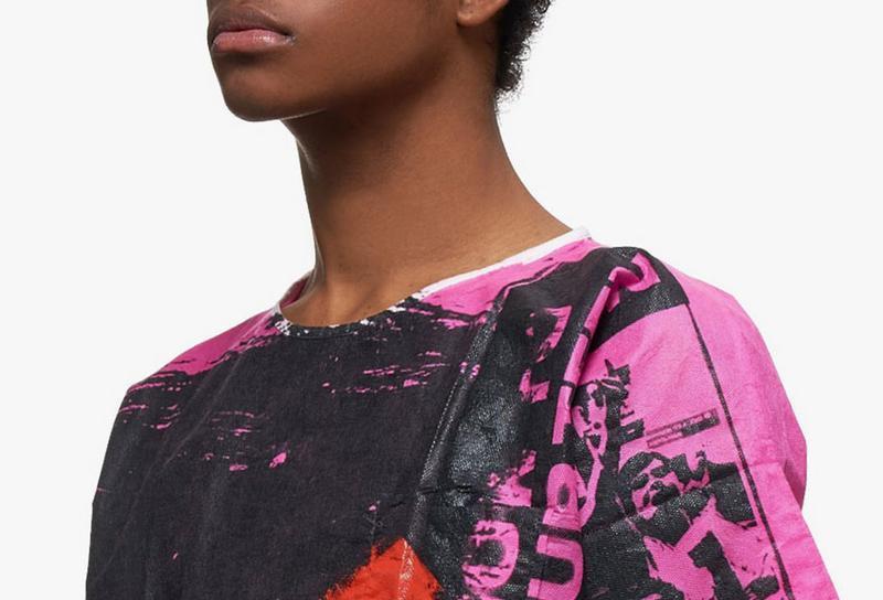 Raf Simons Unveils Hand-Painted Hospital Shirts