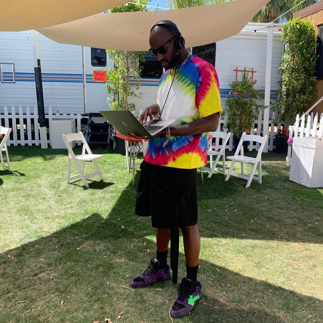 Virgil Abloh Drops Self-Isolation Playlist