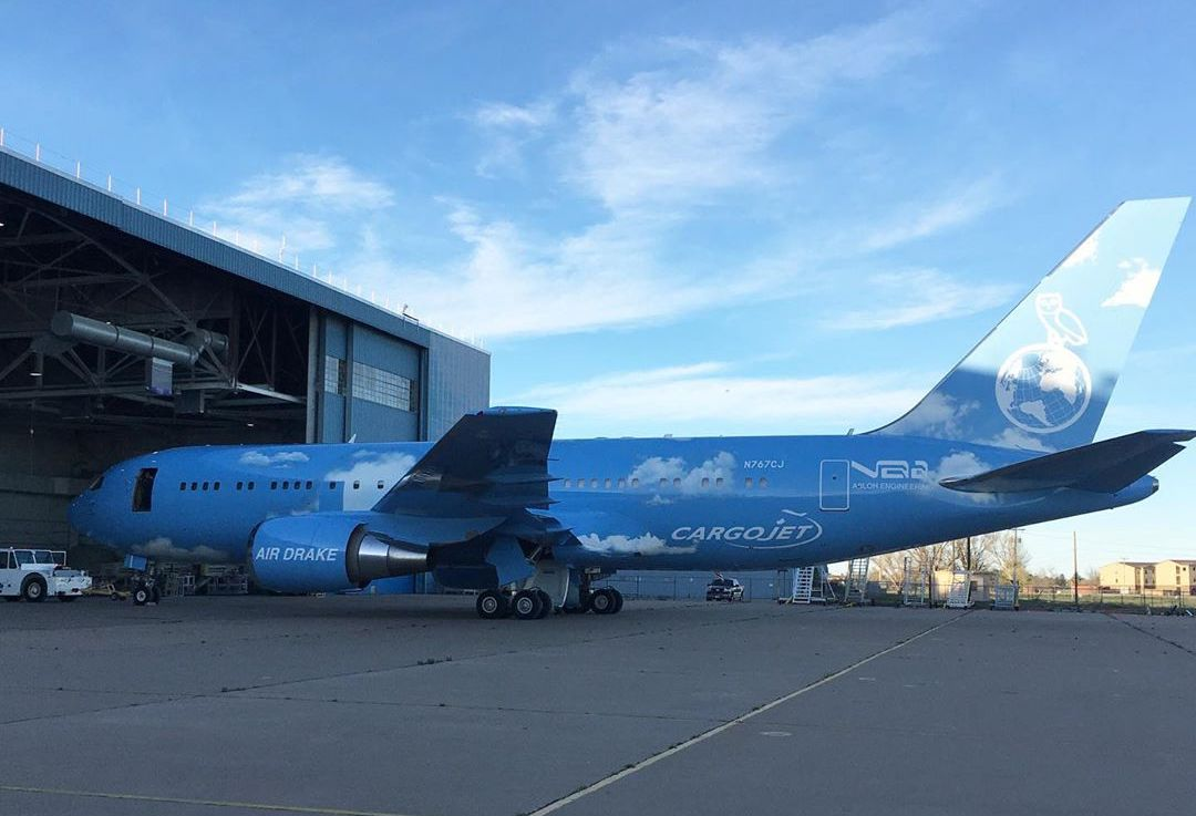 Virgil Abloh Customises Drake's Private Jet