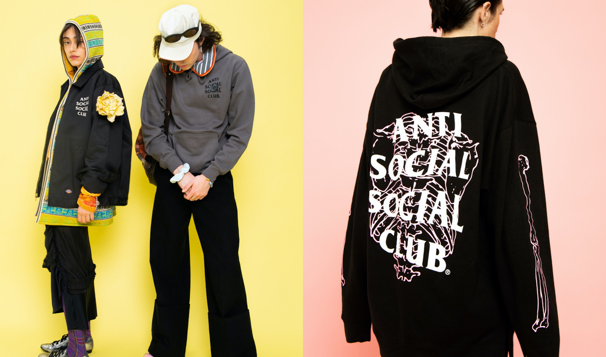 """Anti Social Social Club Unveil Graphic-Heavy """"Hung Up"""" SS20′ Lookbook"""
