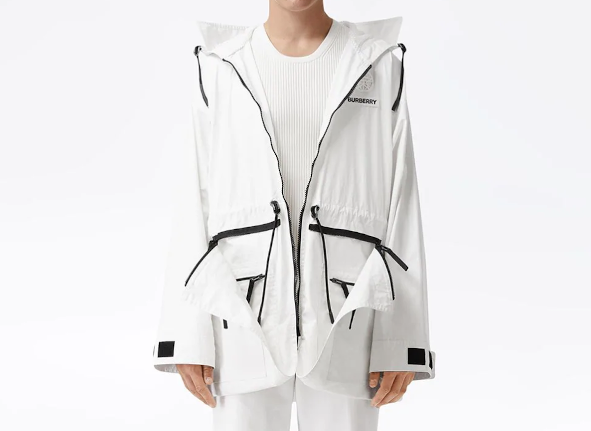 PAUSE or Skip: Burberry Zip Panel Technical Parka