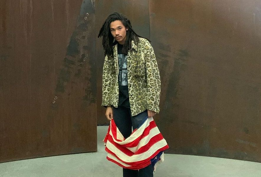 SPOTTED: Luka Sabbat visits the Dia Beacon, New York in Leopard Print