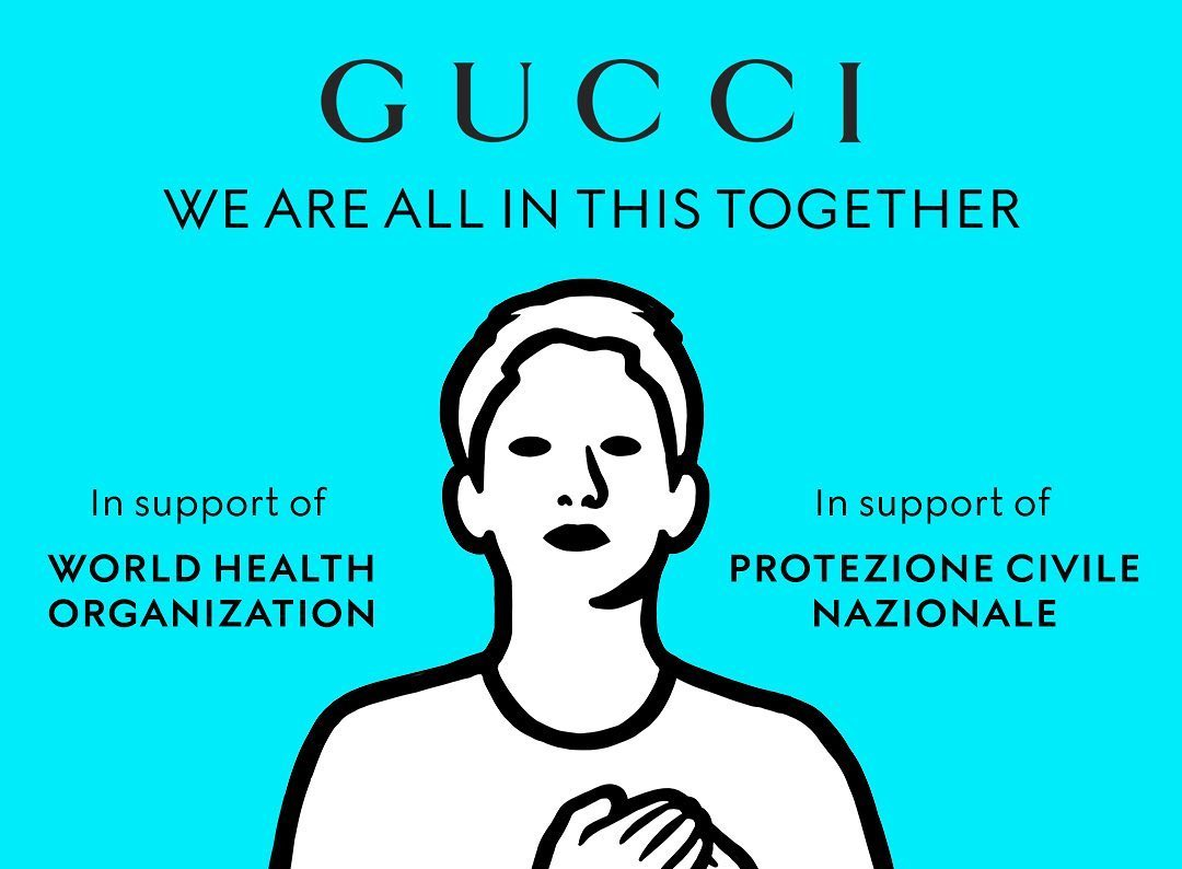 Gucci is the latest label to Donate Funds to Fight COVID-19