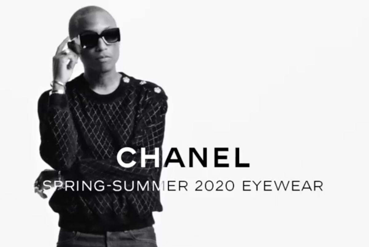 Pharrell Williams shares new Chanel Eyewear SS20′ Campaign Short