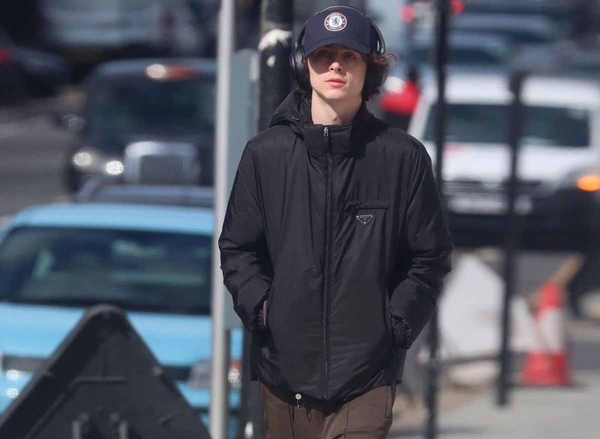 SPOTTED: Timothée Chalamet dons Prada and New Balance in London