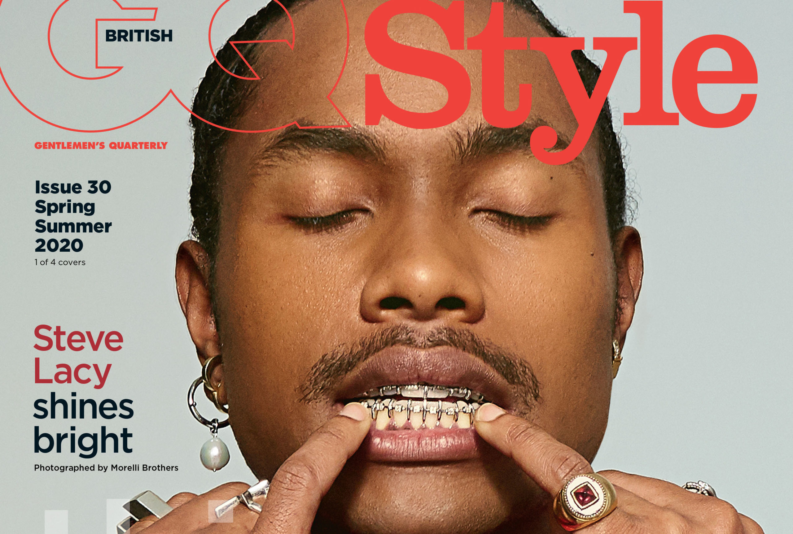 SPOTTED: Steve Lacy Graces Cover of British GQ Style